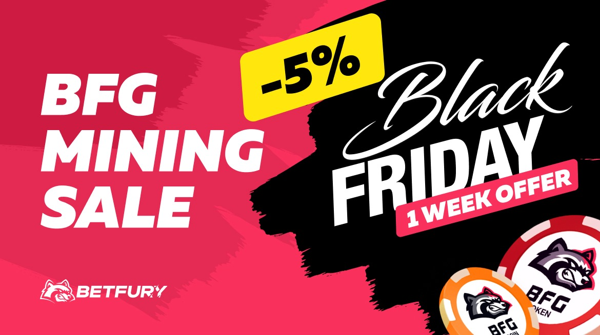 Mining Rabatt Black Friday 2020